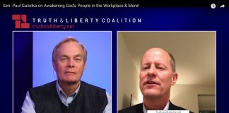 Sceengrab of Andrew Wommack and Paul Gazelka