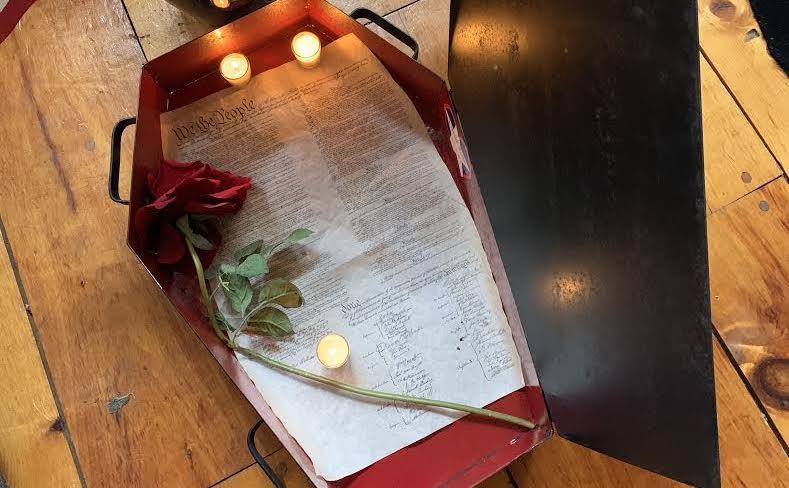 constitution funeral