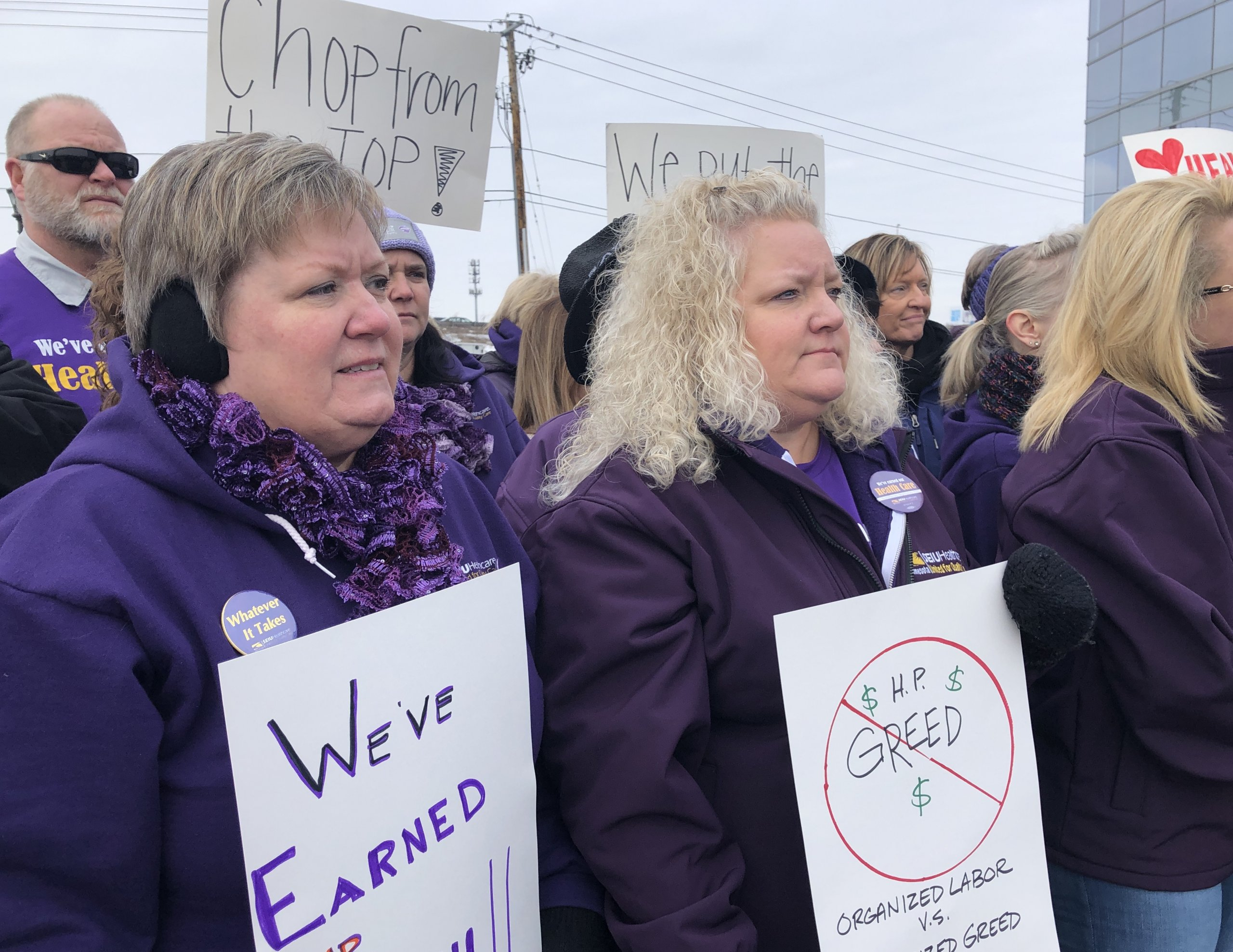 SEIU Healthcare Minnesota strike