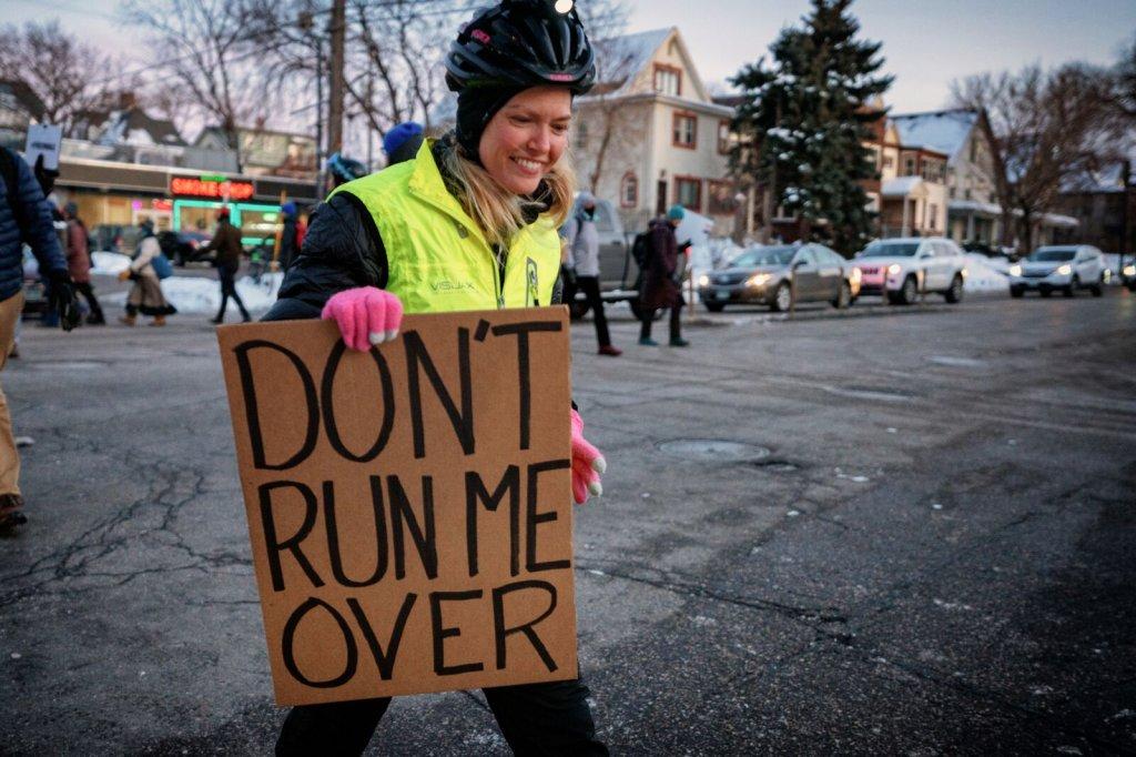 pedestrian activist safe streets save lives