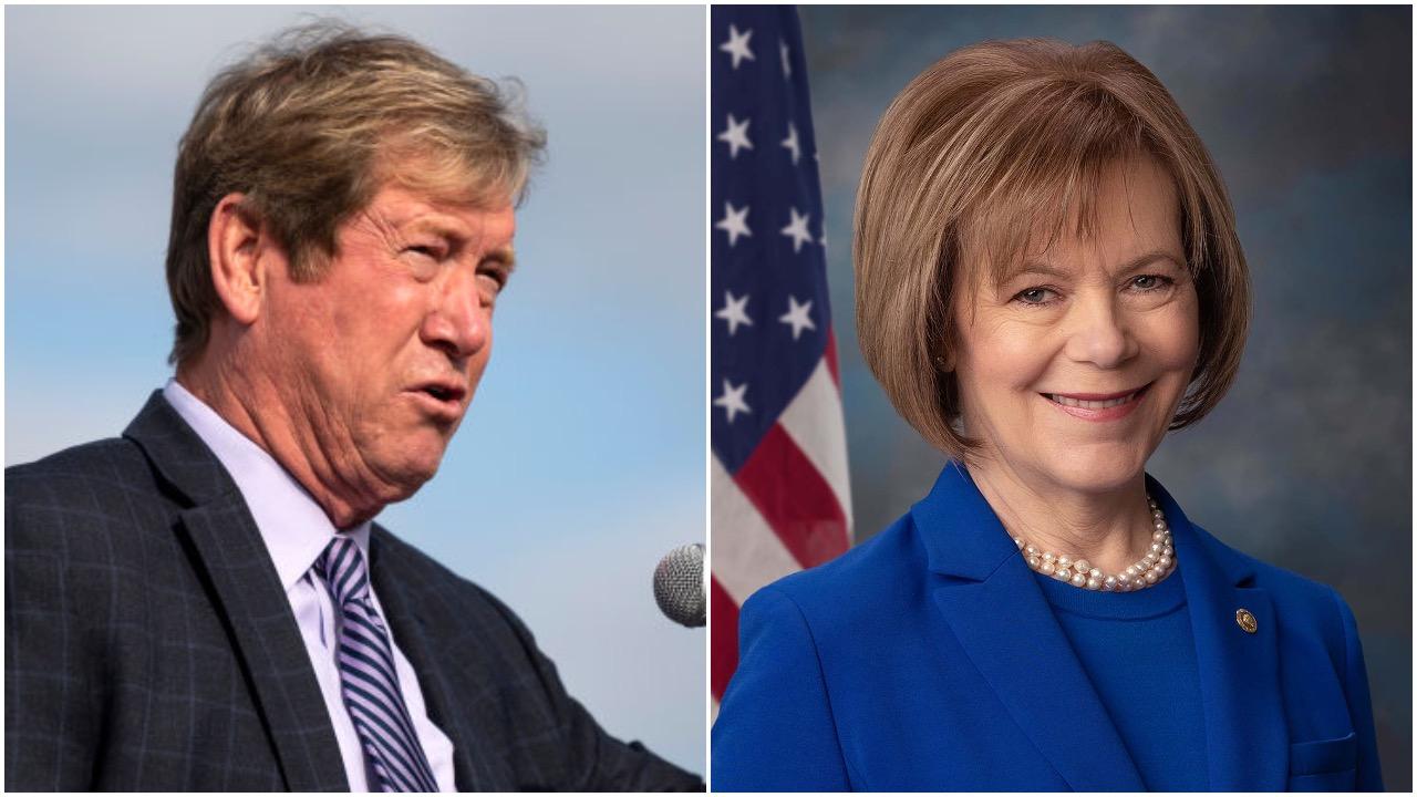 Quiet insider U.S. Sen. Tina Smith faces bombastic former GOP congressman Jason Lewis