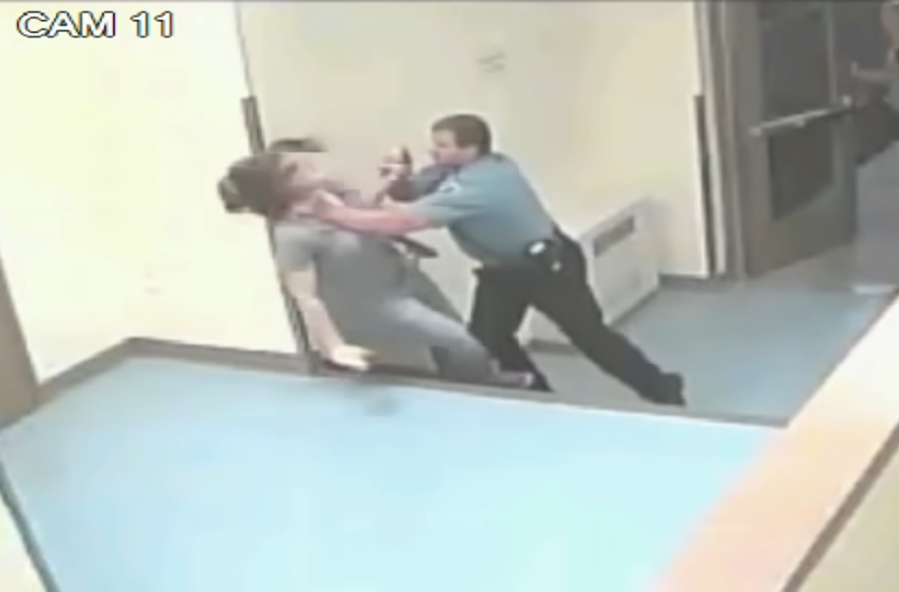 Ex-Minneapolis cop had history of kicking people in the face
