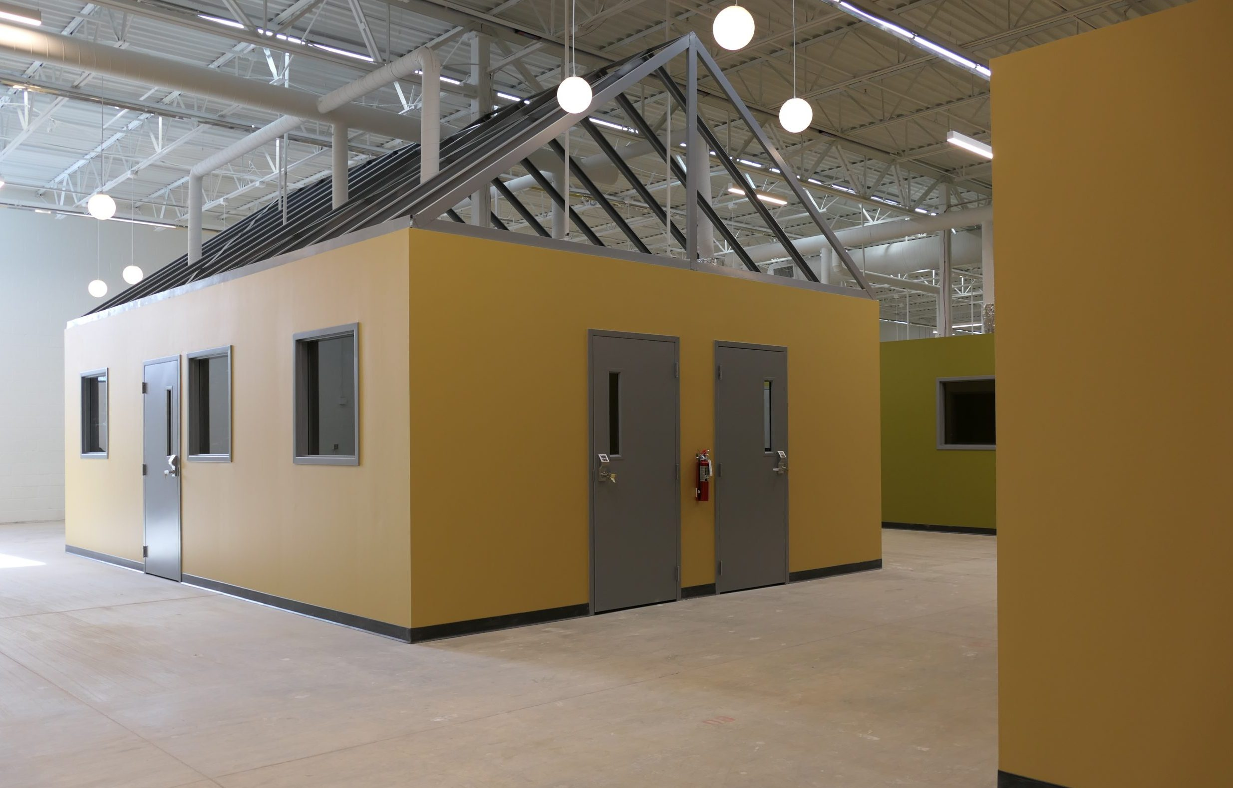 Indoor tiny house village for homeless people set to open next month in Minneapolis