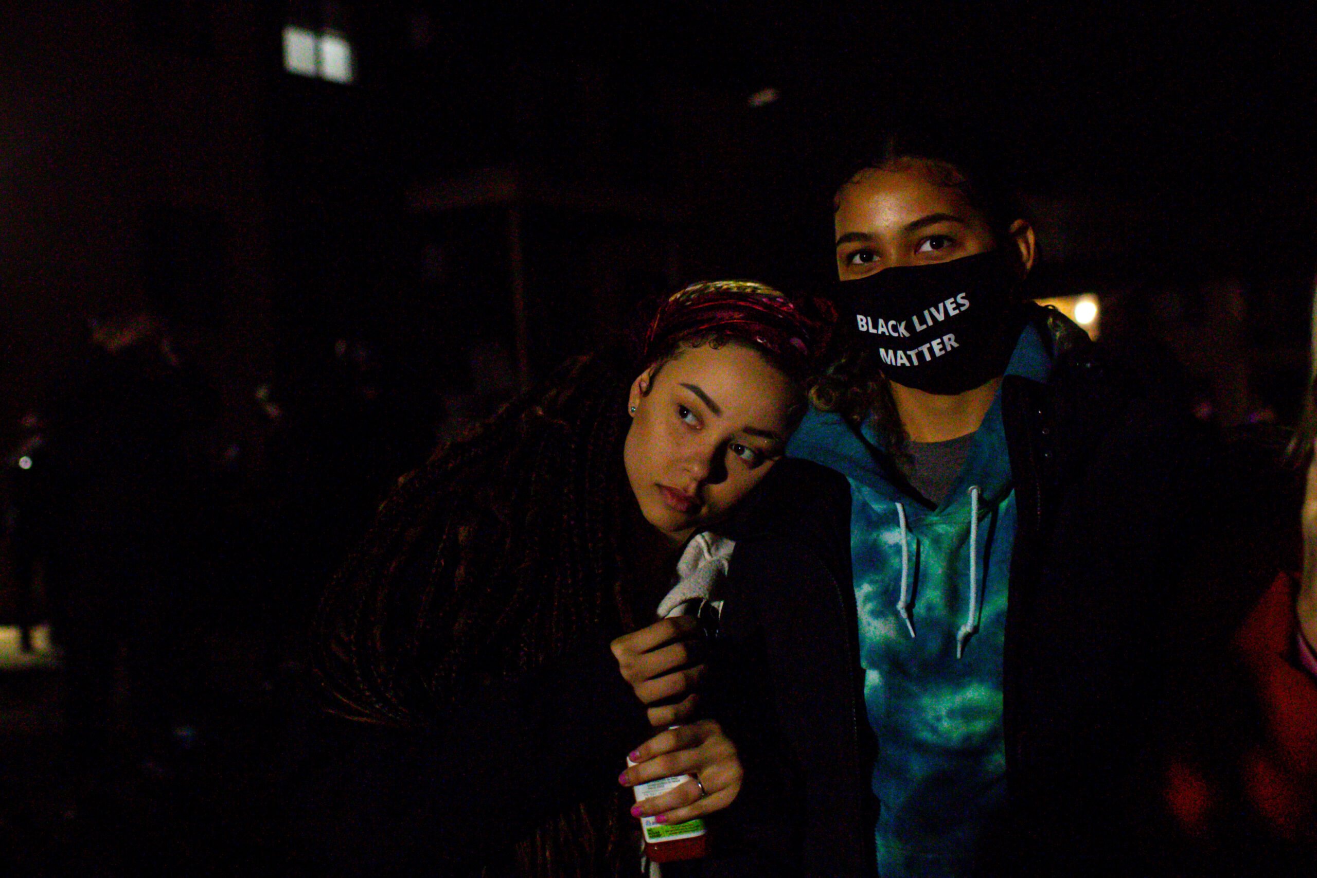 More clashes, fewer arrests on 4th night of protests in Brooklyn Center