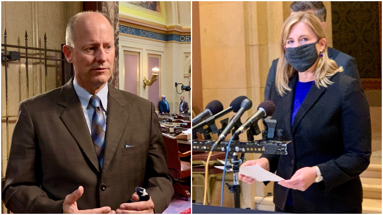 40 days left in legislative session with big differences between Senate, House