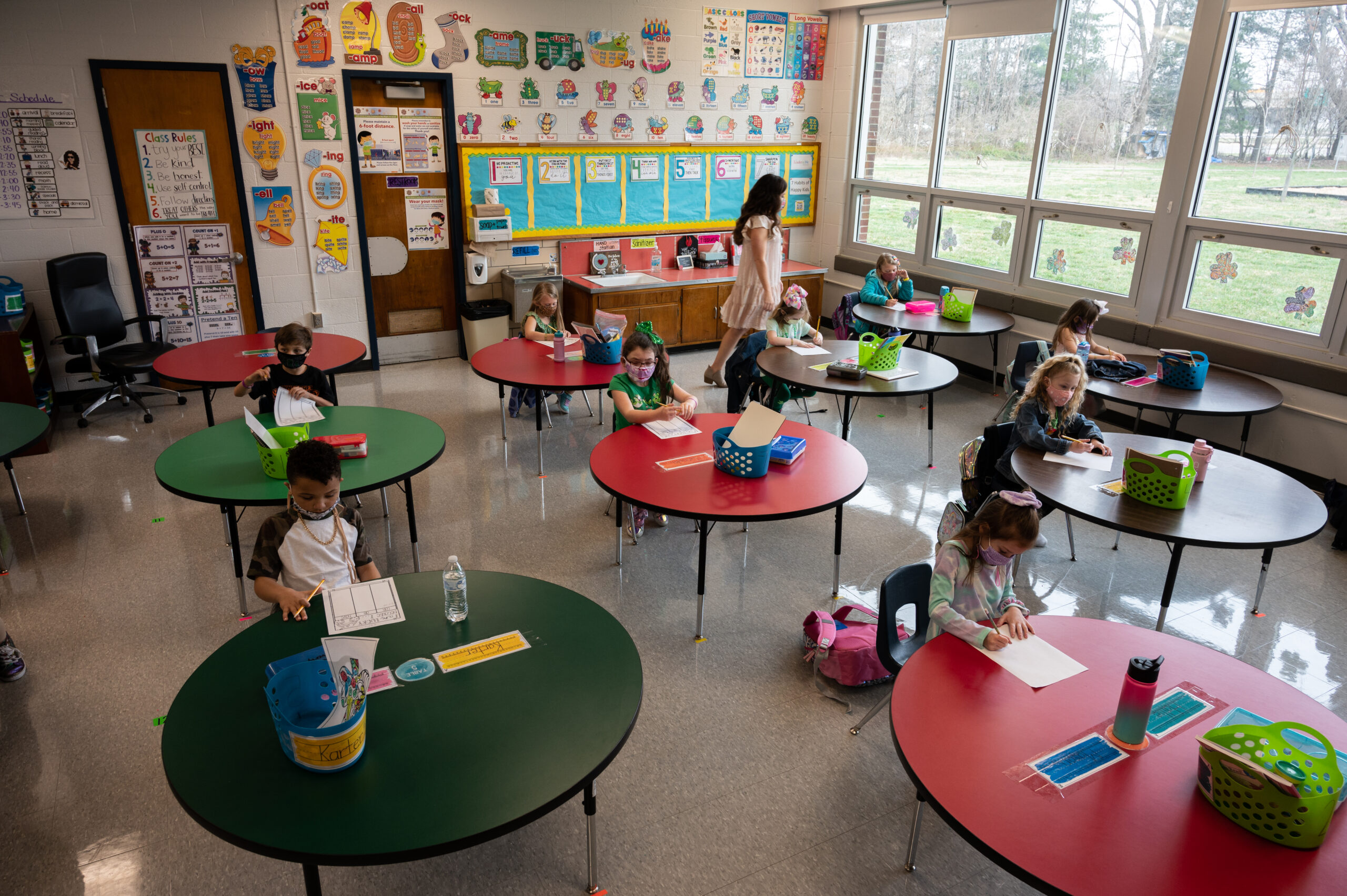 CDC study finds racial, regional disparities as schools reopened for in-person learning
